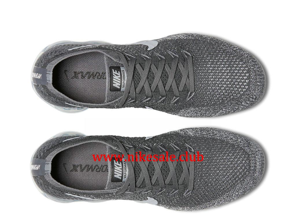 Chaussures Femme Nike Air Vapormax Flyknit Pas Cher Gris 849557 002