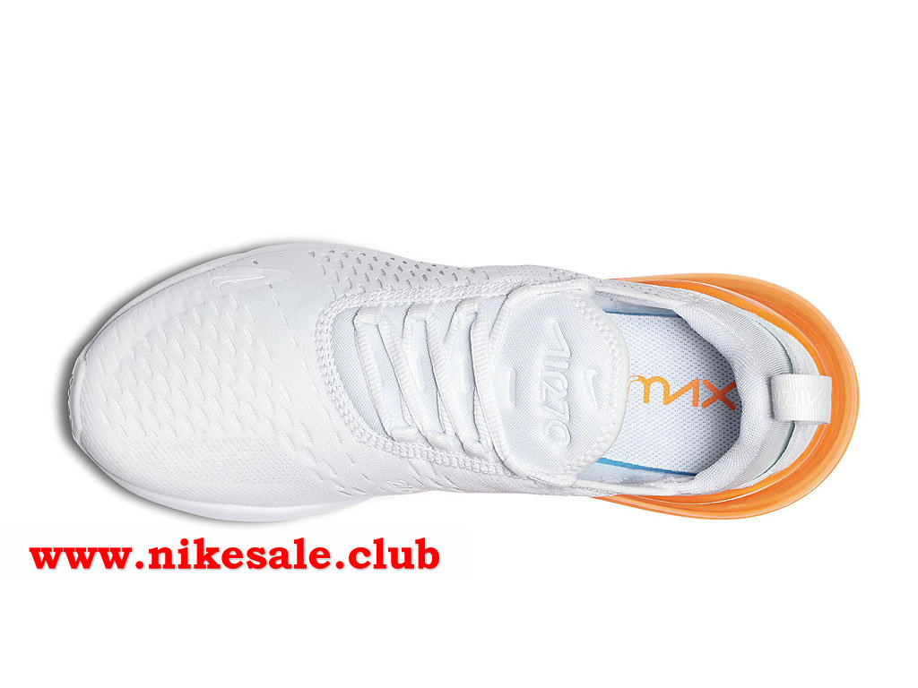 air max 270 blanche et orange pas cher