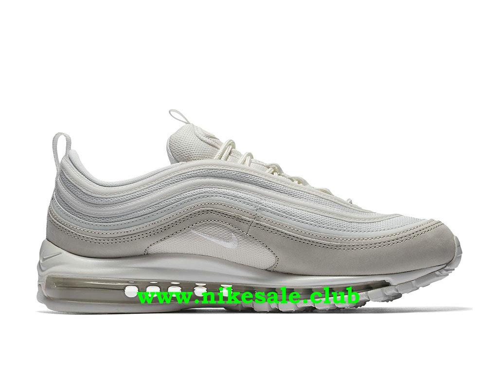 ... Chaussures Homme Nike Air Max 97 Pas Cher Prix Gris Beige Blanc 312834_006 ...