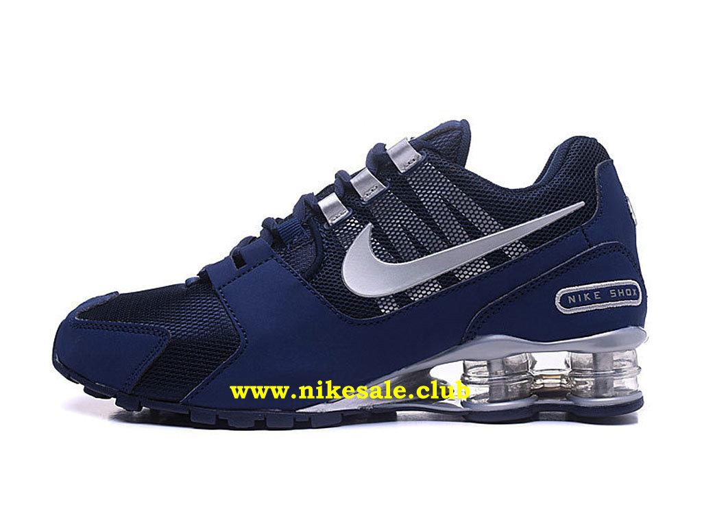 chaussure homme nike bleu