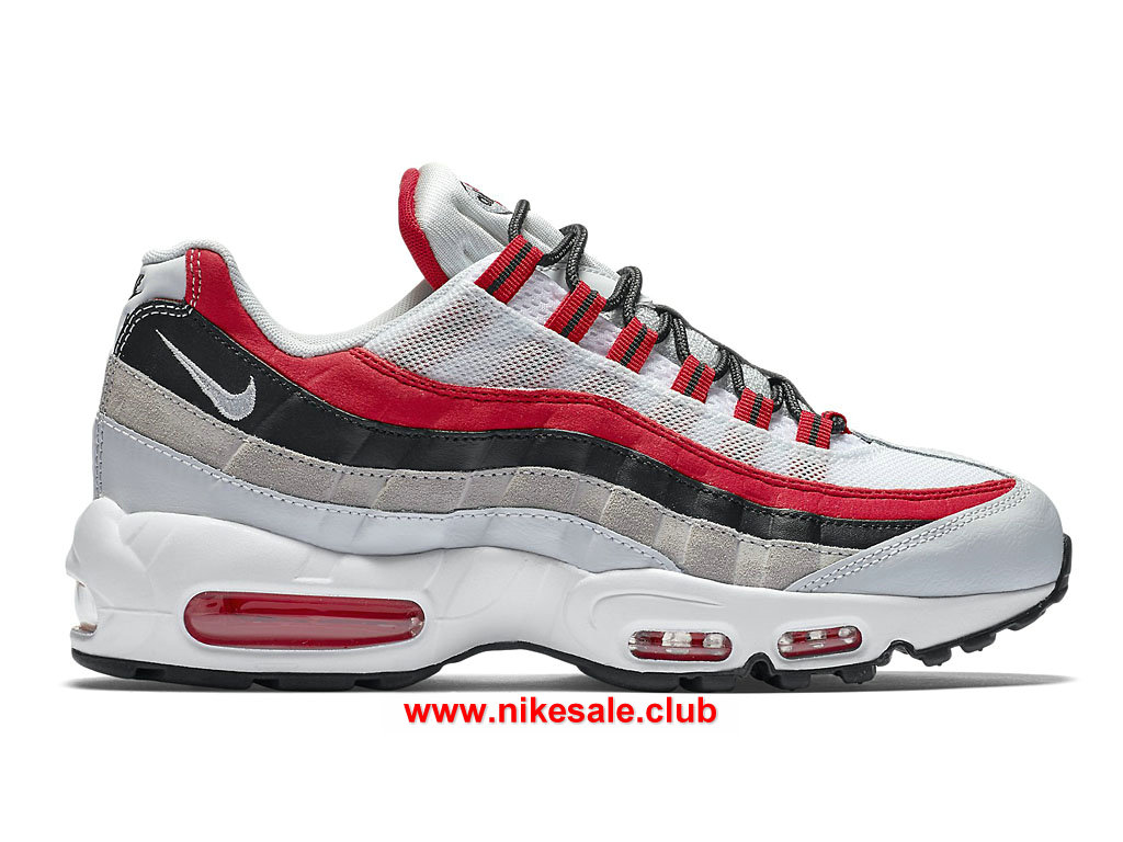 Chaussures Nike Air Max 95 Essential Prix Femme Pas Cher Rouge/Noir/Blanc  749766_601-1701100904 - Les Nike Magasins Discount D´usine,Nike BasketBall  ...