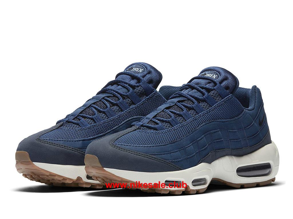 ... Chaussures Nike Air Max 95 Prix Femme Pas Cher Bleu/Blanc 307960_400 ...