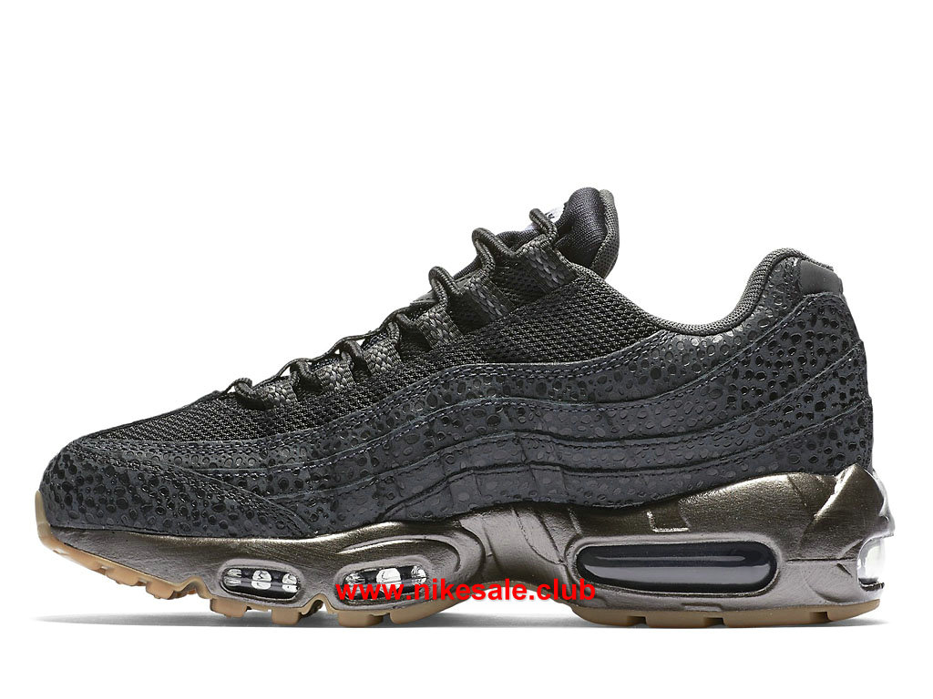 ... Chaussures Nike Air Max 95 Prix Femme Pas Cher Gris/Or 807443_002 ...