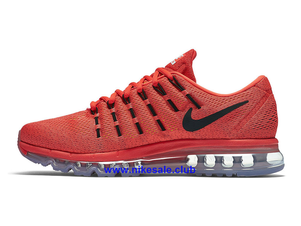 ... Chaussures Ruuning Homme Pas Cher Nike Air Max 2016 Rouge/Noir 806771_600 ...