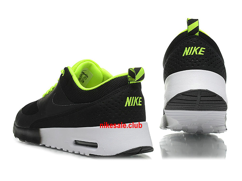 Nike Air Max Thea Chaussures De Running Pour Homme NoirVertBlanc 599409 310 Les Nike Magasins Discount D´usine,Nike BasketBall Pas Cher Site