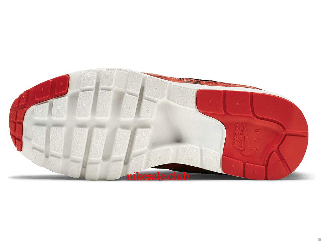 Nike Wmns Air Max 1 Ultra GS (SHANGHAI) Prix Chaussures De Running Pour Femme RougeNoir 747105_600 Les Nike Magasins Discount D´usine,Nike
